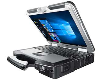 Rugged Laptop Protected Internal Parts
